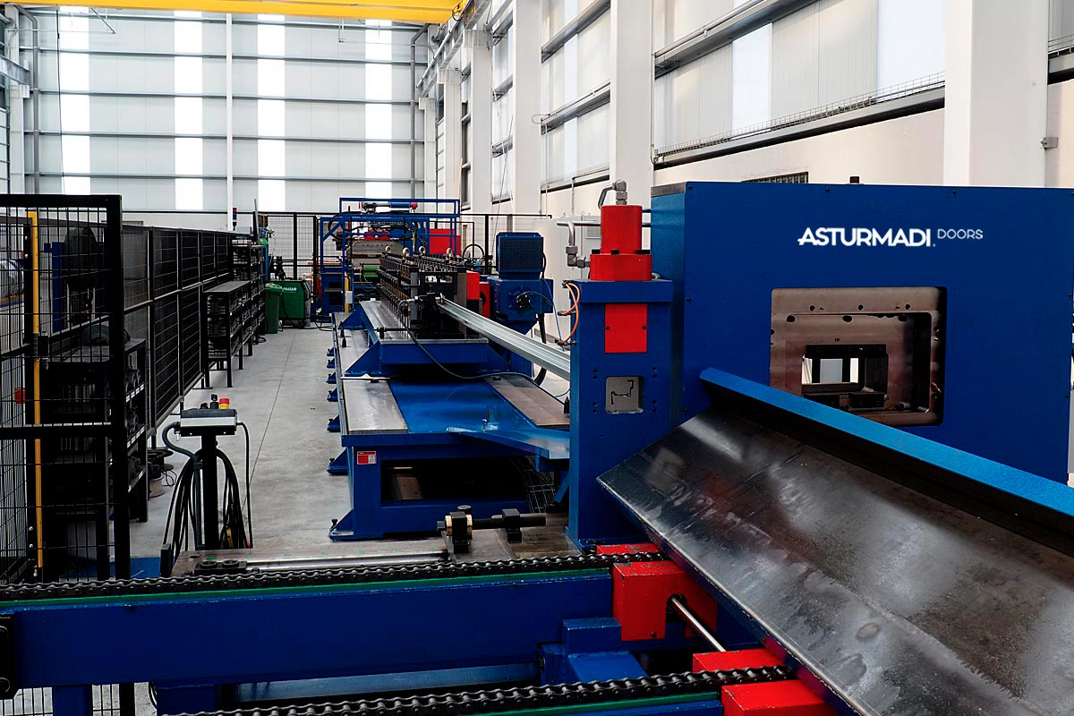 Asturmadi Doors is renovating the production line