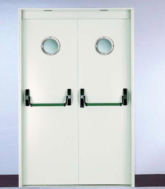 Antibacterial door