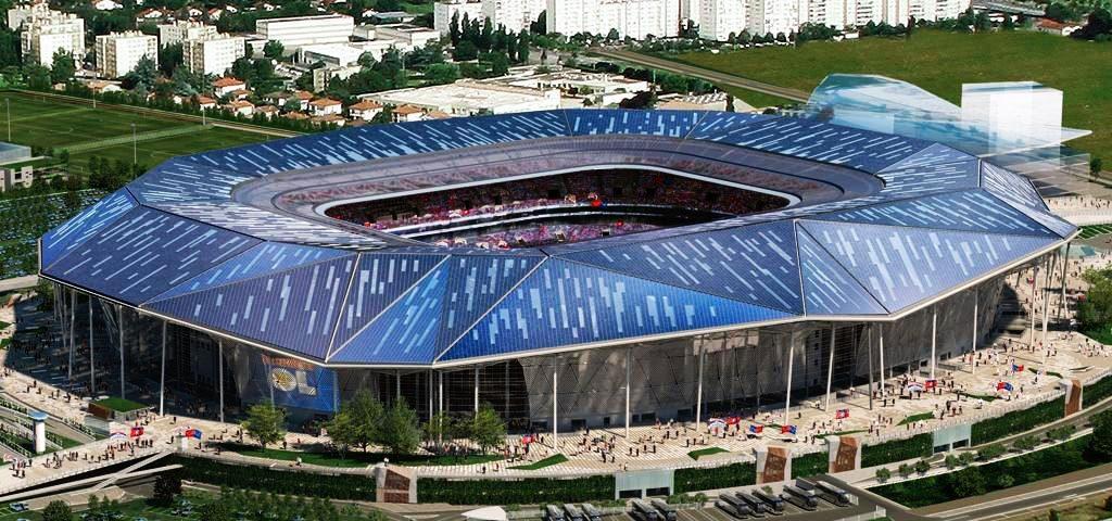 """Estadio """"La Lumiere"""" Olympique de Lyon"""