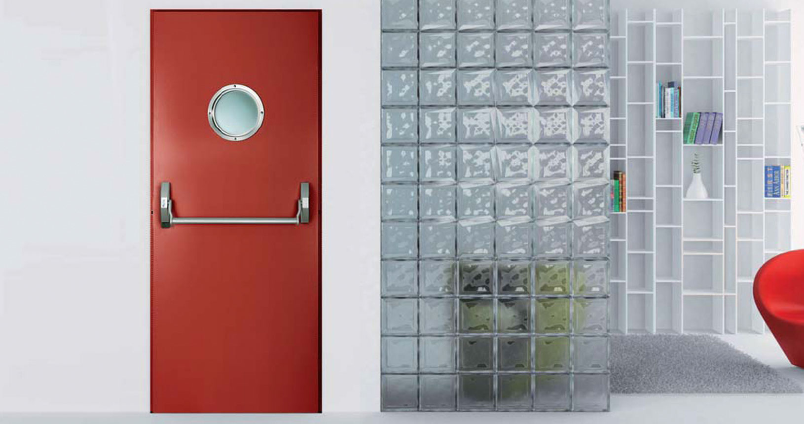Firestop Colour door