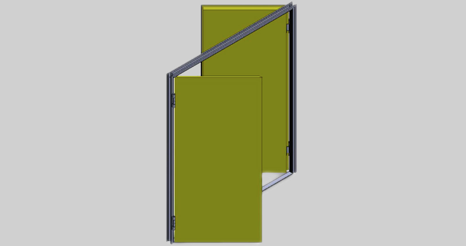 Firestop Tow-way doors